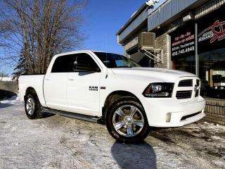 Used 2017 RAM 1500 Cabine muliplaces 4RM, 140,5 po Sport for sale in Longueuil, QC