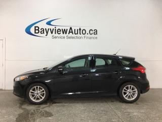Used 2015 Ford Focus - SYNC! REVERSE CAM! A/C! CRUISE! ALLOYS! for sale in Belleville, ON