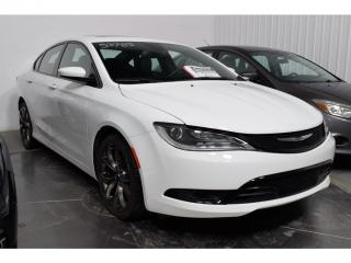Used 2016 Chrysler 200 S Cuir Toit Pano for sale in L'ile-perrot, QC