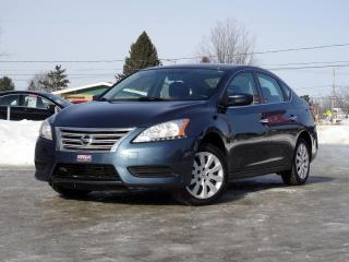 Used 2014 Nissan Sentra S + CLIMATISEUR + BLUETOOTH + GARANTIE! for sale in Magog, QC