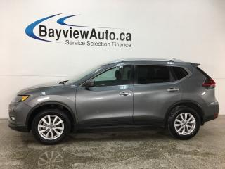 Used 2018 Nissan Rogue SV - AWD! APPLE CARPLAY! ANDROID AUTO! PANOROOF! HTD SEATS! REMOTE START! for sale in Belleville, ON