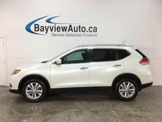 Used 2015 Nissan Rogue SV - PANOROOF! REVERSE CAM! HTD SEATS! ALLOYS! for sale in Belleville, ON