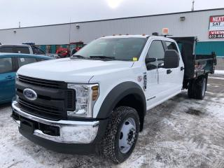 Used 2018 Ford F-550 Crew Cab 4WD Diesel Dump - AVAILABLE TODAY! for sale in Ottawa, ON