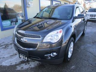 Used 2014 Chevrolet Equinox LOADED 2-LT MODEL 5 PASSENGER 2.4L - ECO-TEC.. LEATHER.. HEATED SEATS.. ECON-BOOST.. BACK-UP CAMERA.. NAVIGATION.. BLUETOOTH SYSTEM.. for sale in Bradford, ON