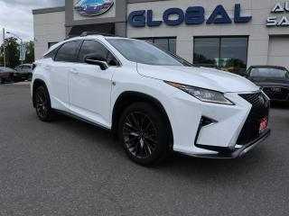 Used 2017 Lexus RX 350 AWD F-SPORT NAV. LEATHER . SUNROOF. for sale in Ottawa, ON