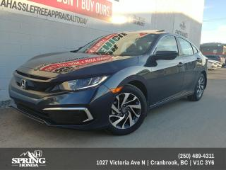 New 2019 Honda Civic EX $163 BI-WEEKLY - $0 DOWN for sale in Cranbrook, BC