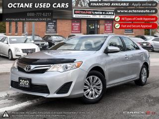 Used 2012 Toyota Camry LE ACCIDENT FREE! ONE OWNER! for sale in Scarborough, ON
