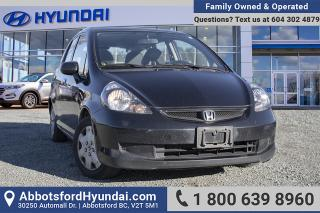 Used 2007 Honda Fit LX BC OWNED for sale in Abbotsford, BC