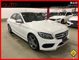 Used 2016 Mercedes-Benz C-Class C300 4MATIC PREMIUM SPORT LED CLEAN CARFAX for sale in Vaughan, ON