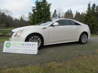 Used 2011 Cadillac CTS PREMIUM, AWD, NAVI, INSP, WARR, BCAA MBSHP for sale in Surrey, BC