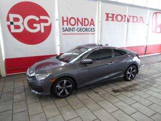 Used 2017 Honda Civic édition Touring Cuir for sale in St-Georges, QC