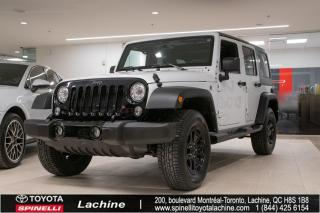Used 2017 Jeep Wrangler 4x4 Awd for sale in Lachine, QC