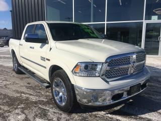 Used 2018 RAM 1500 Laramie, Diesel, Crew Cab, 4x4, Remote Start for sale in Ingersoll, ON