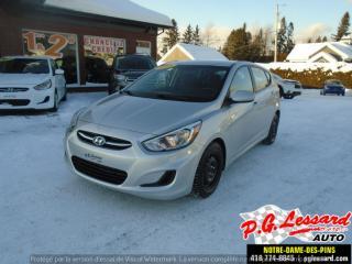 Used 2015 Hyundai Accent GL for sale in St-Prosper, QC