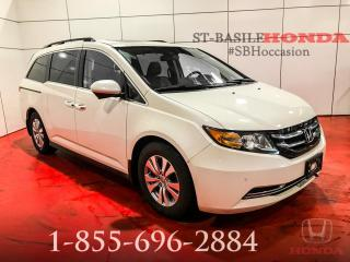 Used 2015 Honda Odyssey EX-L RES + 8 PASSAGERS + CUIR + WOW !!! for sale in St-Basile-le-Grand, QC