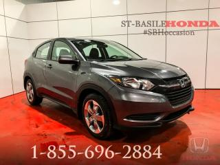 Used 2017 Honda HR-V LX + BLUETOOTH + MAGS + CAMERA + MANUEL for sale in St-Basile-le-Grand, QC