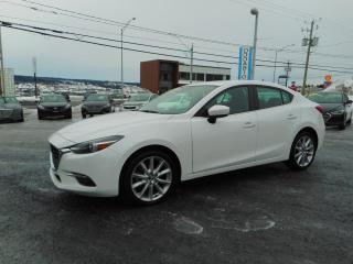 Used 2017 Mazda MAZDA3 GT AUTOM. 2.5L CUIR ET TOIT OUVRANT for sale in St-Georges, QC