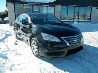Used 2013 Nissan Sentra S **UNE AUBAINE** for sale in St-Hubert, QC