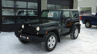Used 2014 Jeep Wrangler Sport, 4x4, A/c for sale in Sherbrooke, QC