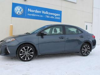 Used 2017 Toyota Corolla FULLY LOADED - LEATHER / SUNROOF / HEATED SEATS for sale in Edmonton, AB