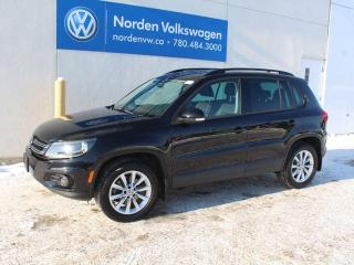 Used 2015 Volkswagen Tiguan 2.0T COMFORTLINE 4MOTION AWD - LEATHER / SUNROOF / HEATED SEATS / VW CERTIFIED for sale in Edmonton, AB
