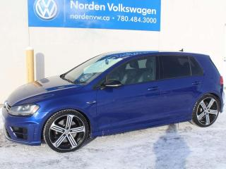 Used 2016 Volkswagen Golf R 2.0T 4MOTION AWD 6SPD M/T - TECH PKG / VW CERTIFIED for sale in Edmonton, AB
