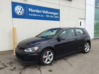 Used 2016 Volkswagen Golf GTI 2.0 TSI 3 DR M/T - VW CERTIFIED for sale in Edmonton, AB