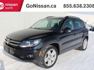 Used 2015 Volkswagen Tiguan COMFORTLINE, NAVIGATION, HEATED SEATS, SUNROOF for sale in Edmonton, AB