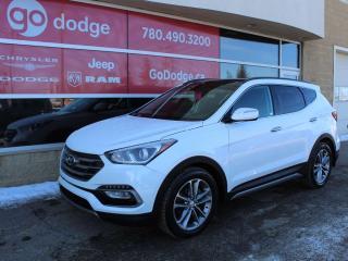 Used 2018 Hyundai Santa Fe Sport SE AWD / Panoramic Sunroof / Back Up Camera / Heated Steering Wheel for sale in Edmonton, AB