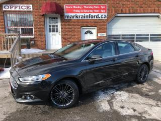 Used 2014 Ford Fusion SE AWD Nav Sunroof Bluetooth Back up Cam Leather for sale in Bowmanville, ON