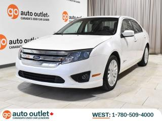 Used 2010 Ford Fusion Hybrid; Leather Heated Seats, Nav, Backup Camera, Sunroof for sale in Edmonton, AB