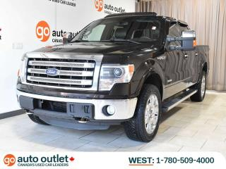 Used 2013 Ford F-150 Lariat 4x4 Crew; Heated Leather Seats, Nav, Locking Rear Diff, Sunroof for sale in Edmonton, AB