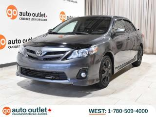 Used 2013 Toyota Corolla LOW KM!! S Auto, Push Start, Leather Heated Seats. Sunroof for sale in Edmonton, AB