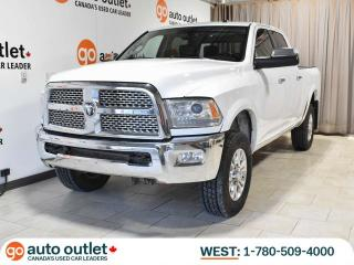 Used 2015 RAM 3500 Laramie 4x4 Crew; Nav, Backup Cam, Sunroof for sale in Edmonton, AB