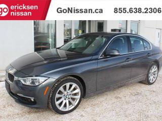 Used 2016 BMW 3 Series 328i xDrive: AWD, NAVIGATION, SUNROOF, AUTOMATIC for sale in Edmonton, AB
