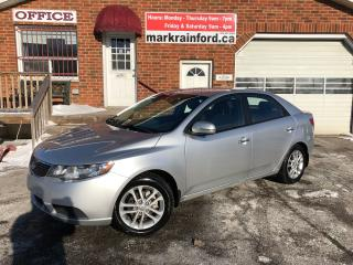 Used 2012 Kia Forte EX Bluetooth Heated Seats Manual for sale in Bowmanville, ON