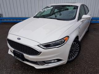 Used 2018 Ford Fusion ENERGI Platinum *NAVIGATION* for sale in Kitchener, ON