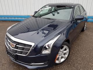 Used 2015 Cadillac ATS 2.0T *LEATHER-SUNROOF* for sale in Kitchener, ON