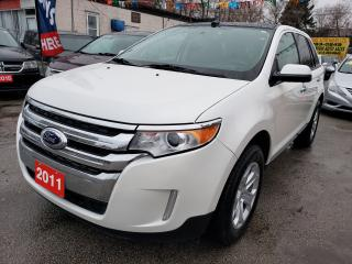 Used 2011 Ford Edge SEL - Sunroof- Leather Seats-Navi-Bluetooth-Alloys for sale in Scarborough, ON