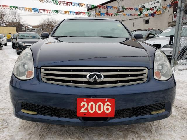 2006 Infiniti G35 AWD- Sunroof-Leather Seats-Fully Loaded-Alloy Rims