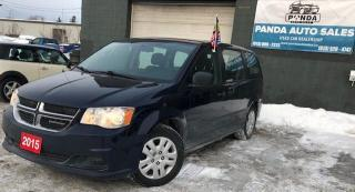 Used 2015 Dodge Grand Caravan 4dr Wgn Canada Value Package for sale in Gloucester, ON