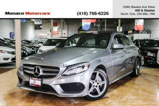 Used 2016 Mercedes-Benz C-Class C300 - AMG|BLINDSPOT|NAVI|BACKUP|PANO for sale in North York, ON