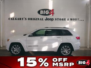New 2019 Jeep Grand Cherokee OVERLAND 4X4 for sale in Calgary, AB