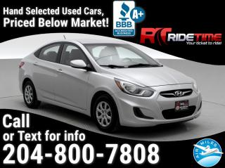 Used 2012 Hyundai Accent GLS for sale in Winnipeg, MB