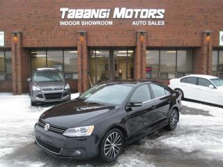 Used 2013 Volkswagen Jetta HIGHLINE | LEATHER | SUNROOF | HTDSEATS | B\T for sale in Mississauga, ON