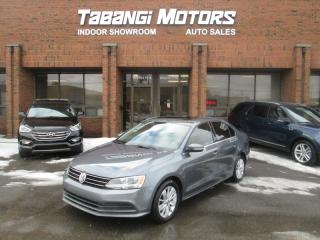 Used 2015 Volkswagen Jetta NO ACCIDENT | SUNROOF | BIG SCREEN | REAR CAM | ALLOY RIM for sale in Mississauga, ON