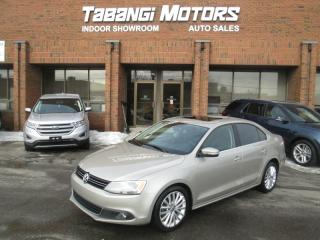 Used 2012 Volkswagen Jetta HIGHLINE | NO ACCIDENTS | LEATHER | SUNROOF | HTD SEATS for sale in Mississauga, ON
