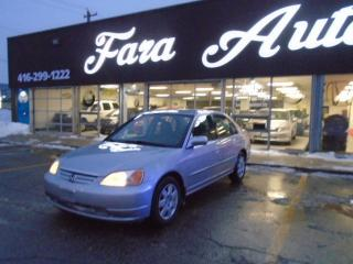 Used 2002 Honda Civic LX-G AUTO for sale in Scarborough, ON
