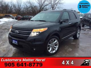 Used 2014 Ford Explorer Limited  NAV ROOF LEATH CAM CS/HS P/SEATS MEM P/GATE for sale in St. Catharines, ON