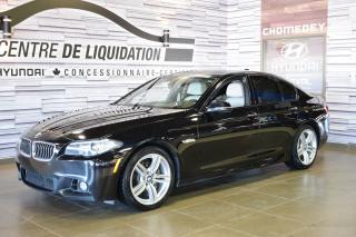 Used 2015 BMW 5 Series 535i xDrive NAVIGATION for sale in Laval, QC